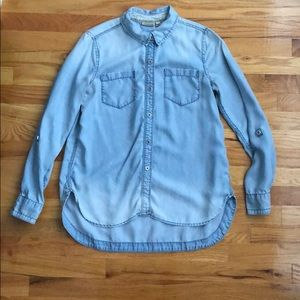 Anthropologie denim shirt